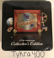 Ohio Art Etch A Sketch 100th Anniversary Collector's Edition in Tin - 2008