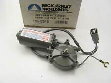 Beck Arnley 196-2045 Reman Rear Window Wiper Motor - 1984-1989 Toyota Van