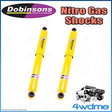 """Suzuki Grand Vitara JB 4WD Rear Dobinsons Nitro Gas Shock Absorbers 2"""" 50mm Lift"""