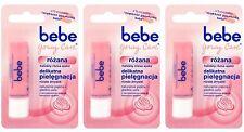 3X BEBE Young Care Rose Roze Lip Balm Stick Free Shipping