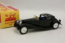 Solido Hachette 1/43 - Bugatti Real 1930 Negra