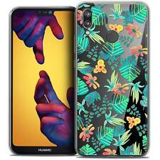 "Coque Crystal Gel Pour Huawei P20 LITE (5.84"") Souple Spring Tropical"