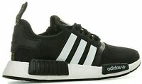 ✅Mens Adidas NMD R1 BOOST Gym Running Trainers✅Black/White Neoprene D97859 NEW✅
