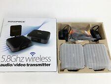 Monoprice 5.8GHz Wireless Audio/Video Transmitter (NEW, OPEN BOX)