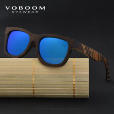 Luxus Bambus Holz Polarisiert Sonnenbrillen Carving Spiegelbein Brillen TA03-B 6LRVhnt