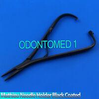 "Mathieu Needle Holder Full Black 5.5"" Surgical Dental Instruments"