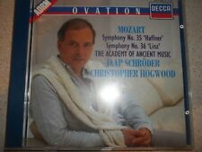 Mozart Symphony Nos 35 - Haffner and 36 - Linz Academy of Ancient Music Schroder
