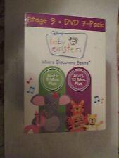 Baby Einstein Stage 3 DVD 7 Pack (2007) Mfg. Sealed