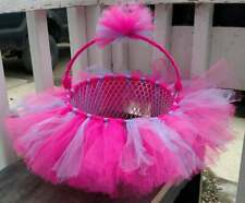 Super Original Hot Pink and Pastel Purple Tutu Easter Gift Basket Set Birthday