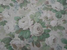 Sanderson Curtain Fabric 'Chelsea' Sage/Ivory 3.4 METRES (340cm) Linen Blend