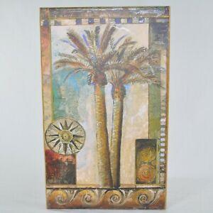 "Palm Tree John Douglas Tri-Coastal Design 5 Photo Book Album Box 4x6"" Formats"