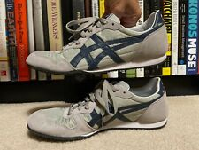 Asics Onitsuka Tiger Serrano Sneakers White Gray Men's (SIZE 10.5) Shoes D109L