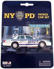 Toy Daron Nypd Police Car Set Play Game Kids Vehicles New