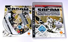 "PS 3 Playstation 3 Spiel "" SOCOM CONFRONTATION "" KOMPLETT"