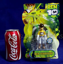 "NEW - BEN TENNYSON - Ben 10 - 4"" Action Figure  - BATTLE POSES VERSION - HTF NEW"