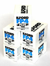 5 Pellicole Ilford FP4 Plus 125 135-24 (Rullino 35mm)