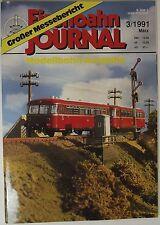 Eisenbahn Journal 3/1991 Marzo, GRAN messebericht - Maqueta de Tren Edición