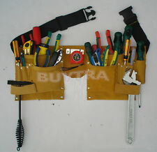 Useful Faux Leather Pouch Tool Belt Holder Electrician Construction Carpenter Z