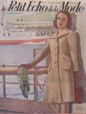 Le Petit Echo de la Mode N° 19  du 11/05/1941 Journal Naisance
