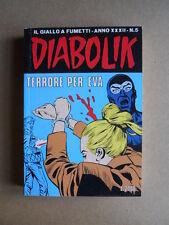 DIABOLIK Anno XXXII n°5  [G260] BUONO