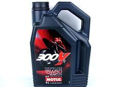 Motul 300V 15W50 RR 15W-50 Factory Line Motorradöl Rennsportöl 4Liter 104129