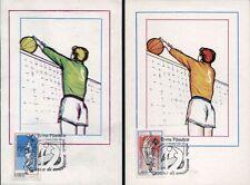1978 - Campionati del Mondo di Pallavolo- Cartoline con annullo commemorativo