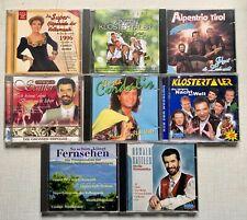 schlager & Volksmusik 8 cd's Sammlung