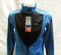 Mens Ladies Winter Cycling Thermal Fleece lined Jacket Pink Blue Red  or Purple
