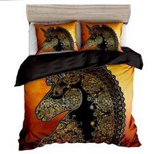 Quilt Duvet Doona Cover Set Queen/King Modern Pattern Printed Mr Cotton  UNICORN