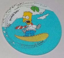 1996 The Simpsons Magic Motion Tazo #169 Bart Simpson - Snowboarding
