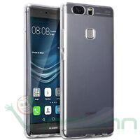 Pellicola+Custodia AIR cover trasparente per Huawei P9 Plus case TPU flessibile