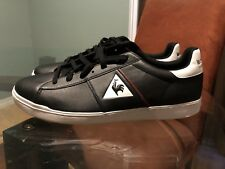 Le Coq Sportif COURT SHOT MF Black Men US 11.5 shoes. Never worn!!!
