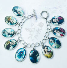 Tale as Old as Time - Beauty and the Beast Charm Bracelet - Handcrafted - Belle