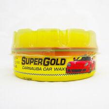 ABRO SUPER GOLD Carnauba Wax Detailing HIGH Gloss Protective 230g + FREE Sponge