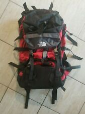 The North Face Red and Black Hiking Backpack