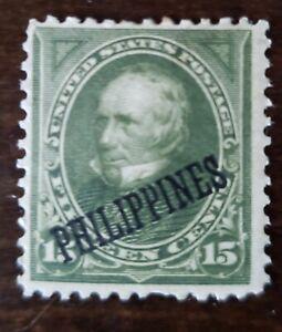 Philippines stamp #218 mint  hinged original Gum United States of America issue