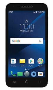 Alcatel CAMEOX|5044R| Smartphone -16GB -White -AT&T Prepaid **NEW in BOX**