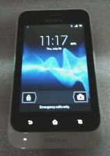 Sony Ericsson Xperia Tipo ST21a White Bad Touch Screen Clean IMEI Read Below