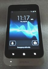 Sony Ericsson Xperia Tipo ST21a weiss Bad Touchscreen Clean IMEI lesen unten