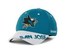 San Jose Sharks  Reebok MO76Z NHL Pro Shape Hockey Practice Cap Hat  L/XL