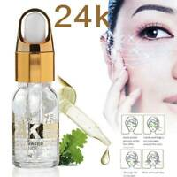 24K GOLD Collagen Anti-Wrinkle Serum Skin Care Anti-aging Whitening Eye Essence