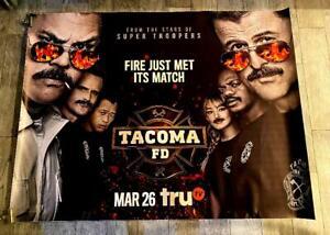 TACOMA FD TRU TV 5FT SUBWAY POSTER Season 3 2021 SUPER TROOPERS