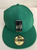 New Era Boston Celtics NBA Mixed Metal 59FIFTY 5950 Fiitted 7 3/4 Hat Cap NEW