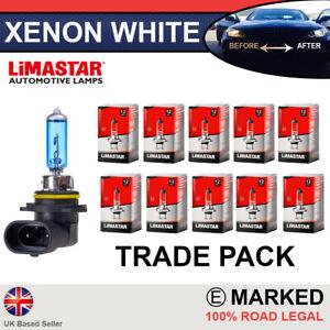 10 x HIR2 9012 55w Limastar Xenon HID Super White Headlight Lamps Light Bulbs