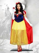 Happily Ever After Snow White Princess Halloween Adult Women Costume Plus 3X/4X
