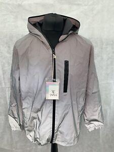 Mens Reflective Jacket Cycling Running Size XL