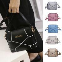 Women Fashion Leather Handbag Crack Shoulder Bag Large Tote Ladies Shoulder Bags