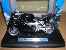 Welly BMW K1200S / K 1200 S nero Moto Moto, 1:18