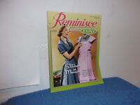 """REMINISCE  MAGAZINE."""" MAGAZINE THAT BRINGS BACK THE GOOD TIMES  MAY., 2011"""