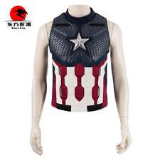 Avengers 4 Captain America Vest Waistcoat leather Halloween Adult Accessories